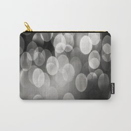 Bokeh Light In Black And White #decor #society6 Carry-All Pouch
