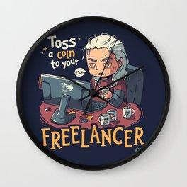 Freelancer of Blaviken Wall Clock