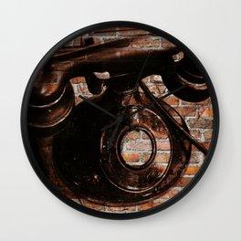 Brick House Phone Wall Clock