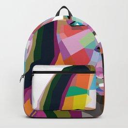 Cara Delevingne - wpap art Backpack