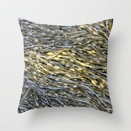 Detail of Seaweed Throw Pillow