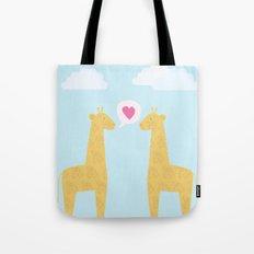 Spotty Giraffe Tote Bag