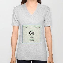 31 Gallium Unisex V-Neck