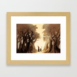 Wirt, Greg, and Beatrice Framed Art Print