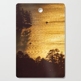 Golden Waters on Newfound Lake Cutting Board