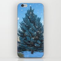 christmas tree iPhone & iPod Skins featuring Christmas tree  by Svetlana Korneliuk