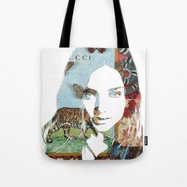 Miranda Collage Tote Bag