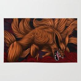 .:Kurama:. The Nine Tailed Fox Rug