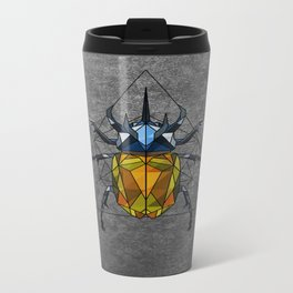 Geo Beetle  Metal Travel Mug