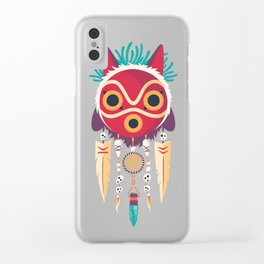 Spirit Catcher Clear iPhone Case