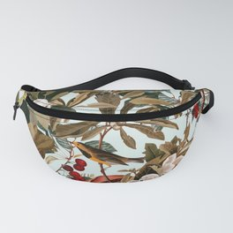Floral and Birds XXVII Fanny Pack