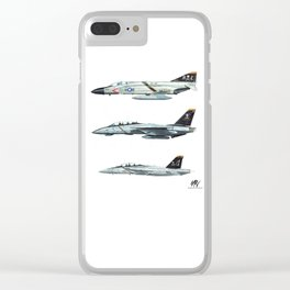 JOLLY ROGERS Trio Clear iPhone Case