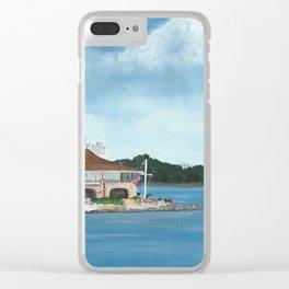 Jackson Yacht Club Clear iPhone Case