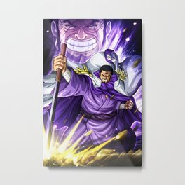 admiral Fujutora - One piece Metal Print