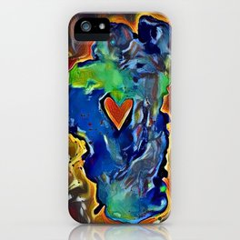 Rock Solid Love iPhone Case