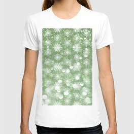 Holiday Mint and Flurries T-shirt