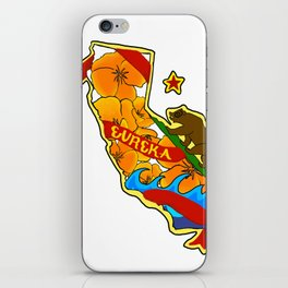California Pride iPhone Skin