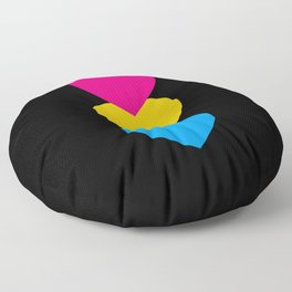 Pansexuality in Shapes Floor Pillow