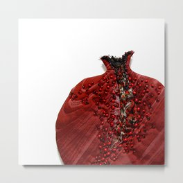 Pomegranate Fruit Metal Print