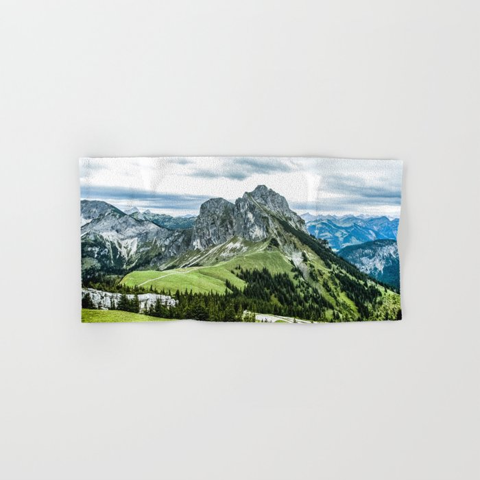 Mountain and Valley Hand & Bath Towel