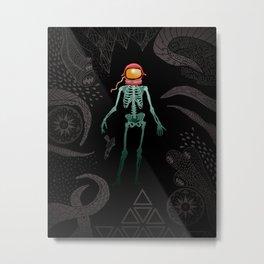 Eternal Celestial Sarcophagus Metal Print