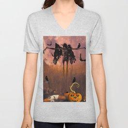 Halloween design Unisex V-Neck