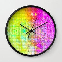 BATHROOM STRUCTURE GRADIENT Wall Clock