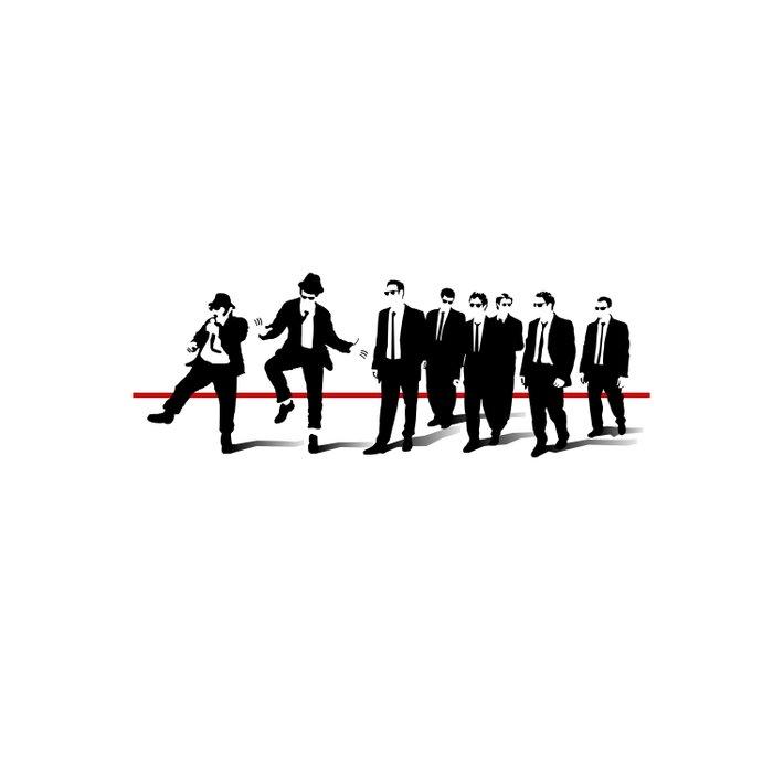 Reservoir Brothers Duvet Cover