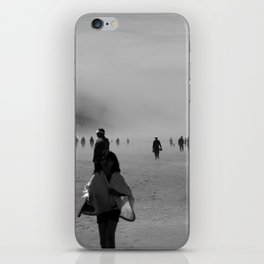Disappear Into the Fog iPhone Skin