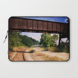 Vintage Railroad Tracks Laptop Sleeve