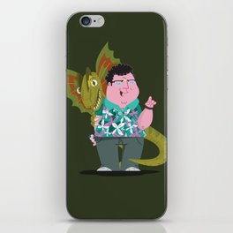 Ah-ah-ah! You didn't say the magic word! iPhone Skin