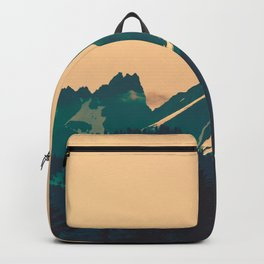 Cascade Mountains Sunset Backpack