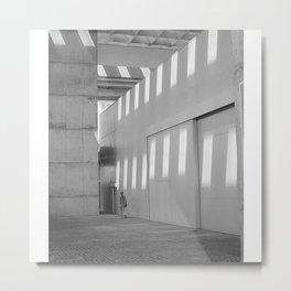 Luz Light Metal Print