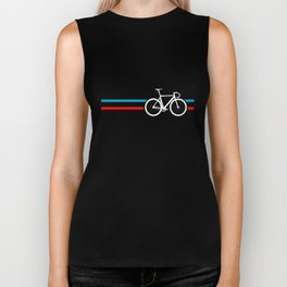 Bike Stripes Velodrome Biker Tank