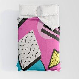 80s Memphis Design Pattern Comforters