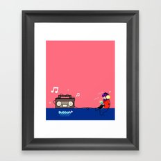 Rocking out Framed Art Print