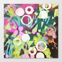 floral two. Canvas Print