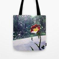 mockingjay Tote Bags featuring Mockingjay by Tori Poole