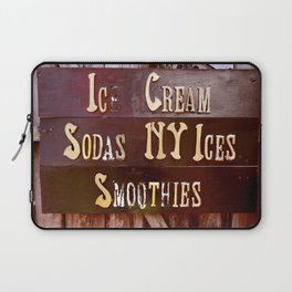 Ice Cream, Sodas, NY Ices, & Smoothies Laptop Sleeve