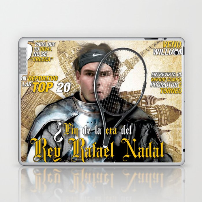 Rafael Nadal in Shinning Armor Laptop & iPad Skin