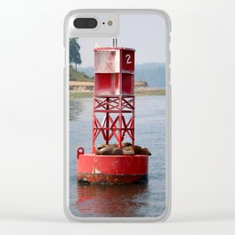 Buoy of Critters Clear iPhone Case