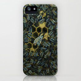 The Golden Hive iPhone Case