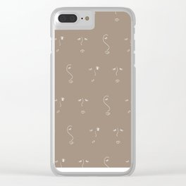 Ladies II Clear iPhone Case