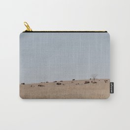 Bison on the Tallgrass Carry-All Pouch