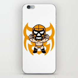 LUCHA#16 iPhone Skin