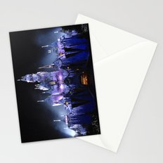 Sleeping Beauty's Winter Castle (Night-time, no 1) Stationery Cards