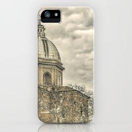 Rome Downtown Architecture Urban Scene iPhone Case