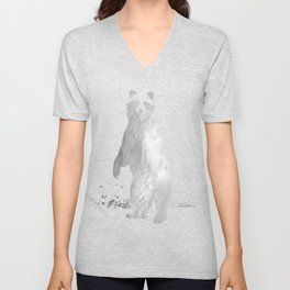 You Too Can Wear Fur! Unisex V-Neck