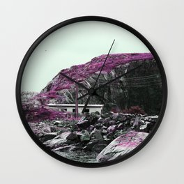 Pink Norway - The House Wall Clock
