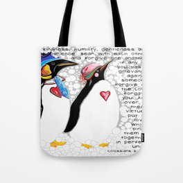 Clothe Yourselves with Compassion Tote Bag